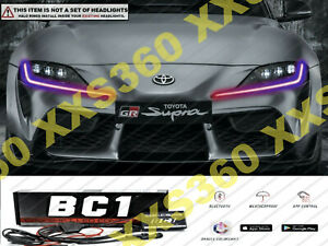 ORACLE for Toyota Supra GR 20-21 Headlight DRL Upgrade Kit COLORSHIFT BC1