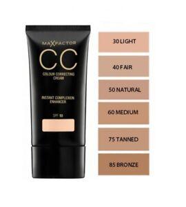 MAX FACTOR CC Colour Correcting Cream 30ml  --Choose shade--