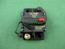 Bussmann 184100F RV 100 Amp DC Waterproof Manual Reset Circuit Breaker