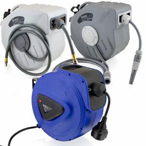 BITUXX Druckluftschlauch Wasserschlauch Trommel Kabeltrommel Automatik Aufroller