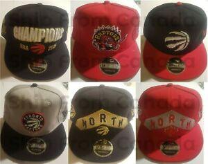 Authentic New Era 9FIFTY TORONTO RAPTORS NBA BASKETBALL Snap back Hat Cap - New