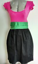 Brand New CLOSET contrast casual dress size 8 side pockets