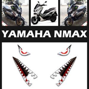 FIT YAMAHA N-MAX NMAX  15-2019 DESIGN FULL COLOR STICKER SHARK EMBLEM LOGO DECAL