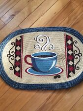 Vintage Braided Classic Coffee Break Kitchen Accent Small Area Rug Country Decor