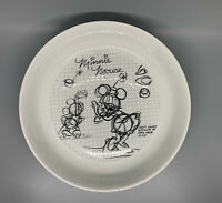"Disney Mickey Mouse Sketchbook Pasta Salad Bowl Dish 8.5"" Inches - MINNIE MOUSE"