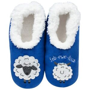 Snoozies  cosy feet coverings Style pairables  Fab-ewe-lous   Colour Blue New