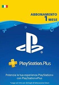 PLAYSTATION PLUS Abbonamento 1 Mese per PS5 PS4 PS3 PS Vita - IT