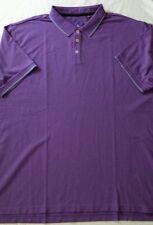 "NWT Robert Graham Embroidered ""GRIFFIN SINGLE HERCERISED"" purple Shirt 1XL"
