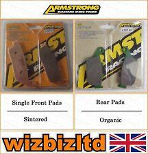 Armstrong Complete Brake Pad Kit Honda CBR 250 (MC19) 1988-89 BK112735