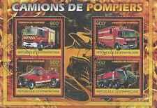 Timbres Pompiers Centrafrique 2500/3 o année 2012 lot 28620 - cote : 20 €