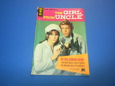 THE GIRL FROM UNCLE #1 Gold Key Comics 1966 U.N.C.L.E. tv spies