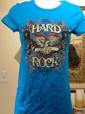 Hard Rock Cafe Orlando Women's Blue T-shirt X-Small