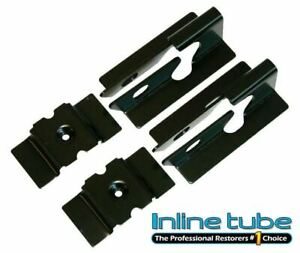 1964-72 GM Pontiac Olds Chevy Buick A Body Rear Seat To Floor Mounting Brackets