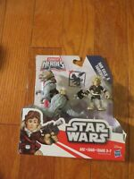 Star Wars Galactic Heroes Han Solo and Tauntaun Figures