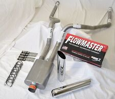 "Ford F150 F250 98-06 Truck 2.5"" Mandrel Dual exhaust Flowmaster 40 series W/Tips"