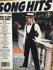 Song Hits Magazine 4/77 Rod Stewart The Staple Singers Emmylou Harris Free Bird
