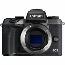 Canon EOS M5 Mirrorless 24.2MP Digital Camera Body Only | Black
