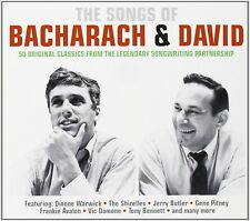 CHARLEY PATTON - SONGS OF BACHARACH & DAVID 2 CD NEU BOBBY VEE/THE WANDERERS