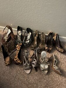 Guess, Bebe,Aldo,bcbg, AK, Jessica Simpson Shoes Wedges & Heels 5.5 & 6 EUC