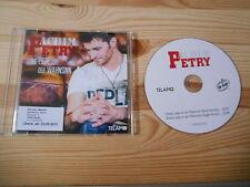 CD Schlager Achim Petry - Deine Liebe i/d Wahnsinn (1 Song) Promo TELAMO