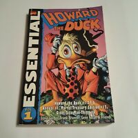 Marvel Comics Essential Howard The Duck Vol 1 Steve Gerber Gene Colan - WAAUUGH!