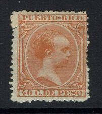 Puerto Rico SC# 126 - Mint Hinged (Multi Hinge Rem) - Lot 062716