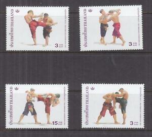 THAILAND, 2003 Kick Boxing set of 4, mnh.