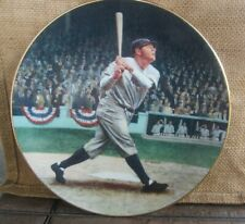 "1992 ""BABE RUTH THE CALLED SHOT"" Legends of Baseball Collector Plate w/ COA"
