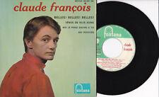 """Claude François -Belles! Belles! Belles!- 7"""" EP 45 France, Fontana"""