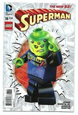 DC Comics SUPERMAN #36 first printing LEGO variant cover