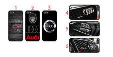 Audi logo s line iPhone 4 5 6 Samsung S3 4 5 6 7 Sony HTC Hard Case Schutzhülle