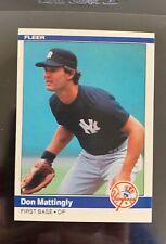 1984 Fleer Don Mattingly Rookie Card #131
