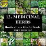 MEDICINAL HERB 1700 SEEDS 12 PACKS HERBAL REMEDY TEA SPRING SUMMER AUTUMN WINTER