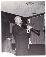 PETE FOUNTAIN Jazz Clarinetist signed original photo in concert