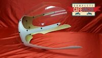 CAFE RACER FAIRING WITH CLEAR SCREEN & HEADLIGHT BUBBLE RICKMAN / AVON STYLE