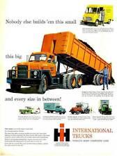 1959 International Truck Tandem-Axle-Pickup-Concrete Mixer-Panel Van PRINT AD