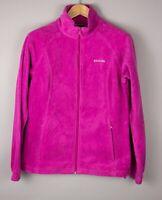 Columbia Damen Freizeit Reißverschluss Fleece Pullover Sweatshirt Größe L AVZ706