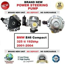 Brand New POWER STEERING PUMP for BMW E46 Compact 325 ti 192bhp 2001-2004