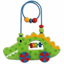 Stephen Joseph Rolling Wire and Bead Toy, Alligator