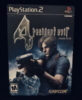 Resident Evil 4 Premium Edition W/ The Making Of DVD For PS2 CIB *TESTED