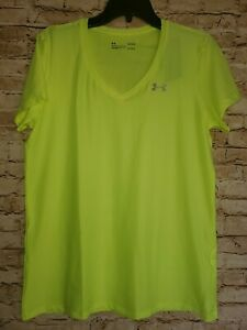 Women's Under Armour Heat Gear Loose  Green Top NWT Choose Size