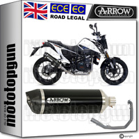 ARROW FULL SYSTEM EXHAUST CAT RACE-TECH C ALUMINIUM BLACK KTM DUKE 690 2018 18