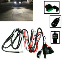 Universal Relay Harness Wire + ON/OFF Switch For LED Fog Lights HID Worklamps