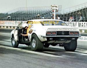 "Bill ""Grumpy"" Jenkins 1968 ""Grumpy's Toy"" Super Stocker Chevy Camaro PHOTO! #(8)"