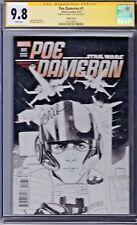 STAR WARS POE DAMERON # 1 CGC 9.8 Sketch Noto Variant Cover Marvel SS