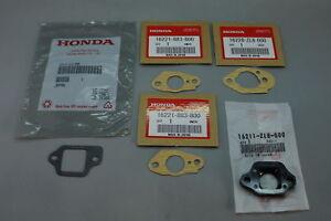 HONDA CARB GASKET KIT 16211-ZL8-000 16221-883-800 16228-ZL8-000 16212-ZL8-000