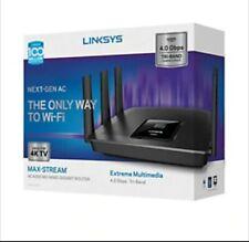 Linksys Router Max Stream Wifi AC4000 MU MIMO Tri Band Smart Wireless 5GHZ