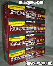Kirkland 1% Hydrocortisone Cream With Aloe,2-oz (4 Tubes)