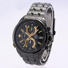 Casio Edifice EFR-536BK-1A9V Chronograph Men's Watch (1/10th Sec & Illuminator)