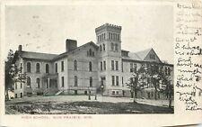 Sun Prairie Wisconsin~Youth by Battlement Tower~High School Corner Doors~1905 pc